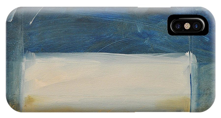 Rothko IPhone X Case featuring the painting Old Macrothko Had A Farm by Tim Nyberg