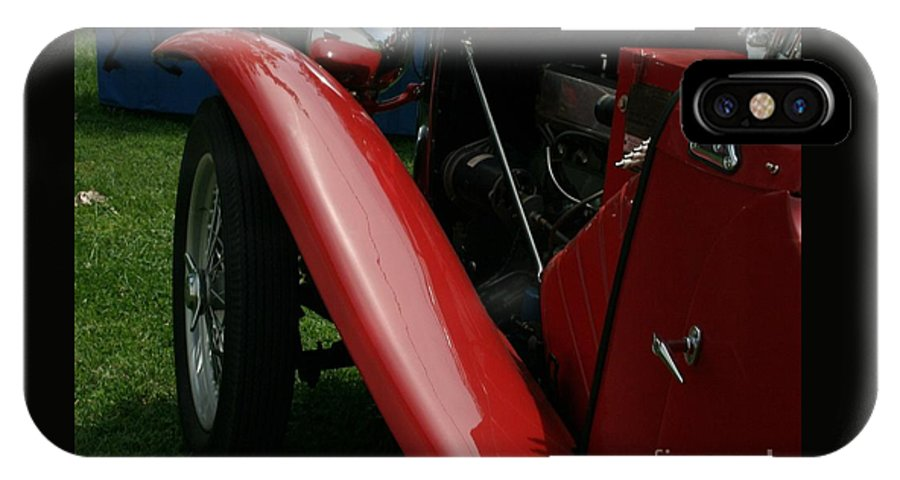 Mg IPhone X / XS Case featuring the photograph Old Mg by Dawn Downour