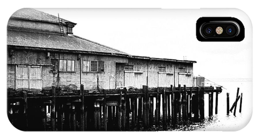 History IPhone X Case featuring the photograph Old Pier by Karen Ulvestad