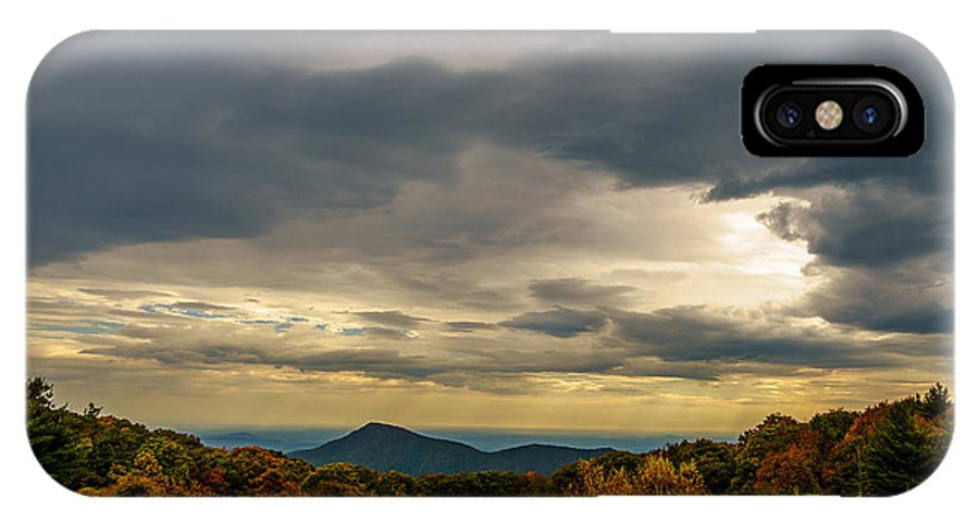 Old Rag IPhone X Case featuring the photograph Old Rag - Calm Before The Storm by Blaine Blasdell