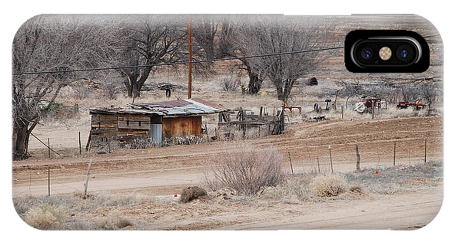 House IPhone Case featuring the photograph Old Ranch House by Rob Hans