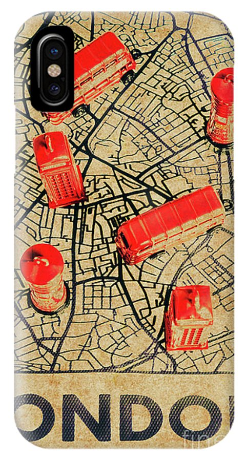United Kingdom IPhone X Case featuring the photograph Old Routemaster Way by Jorgo Photography - Wall Art Gallery