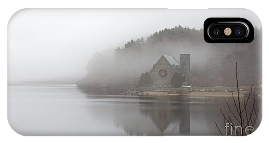 Old Stone Church IPhone X / XS Case featuring the photograph Old Stone Church by Cathy Fitzgerald