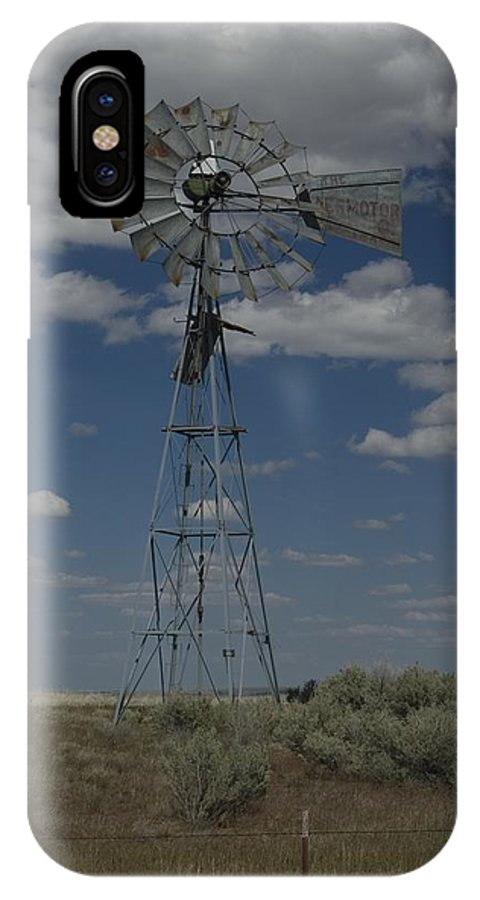 Windmill IPhone X Case featuring the photograph Old Windmill 2 by Sara Stevenson