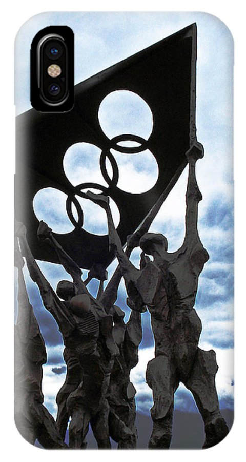 Lausanne IPhone Case featuring the photograph Olympic by Jeff Barrett