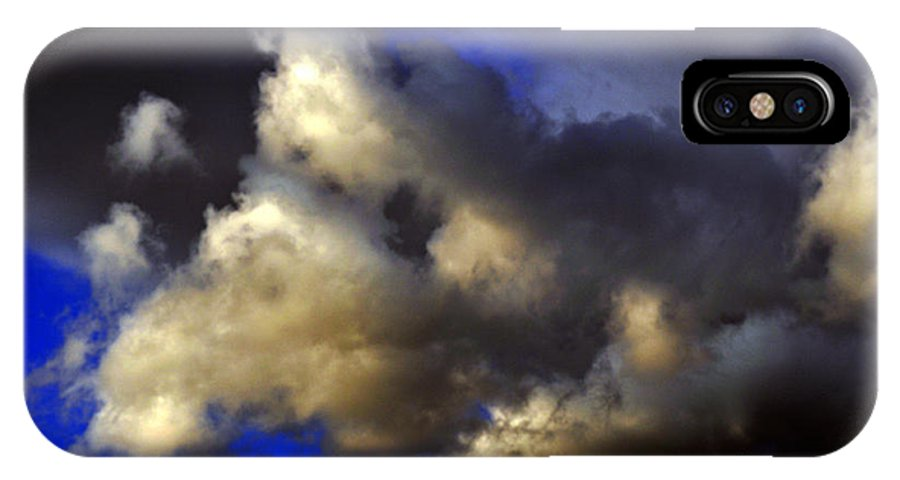 Clay IPhone X Case featuring the photograph Ominous by Clayton Bruster
