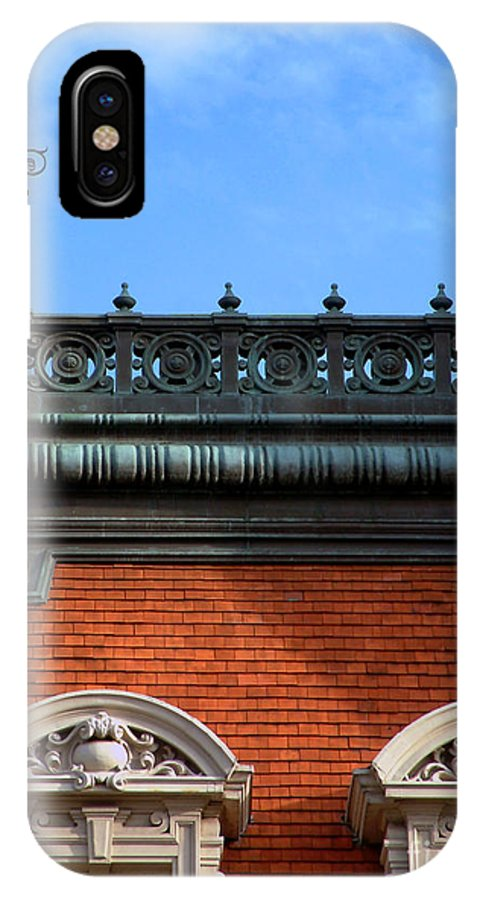 Apartment IPhone X Case featuring the photograph On A Clear Day by RC DeWinter