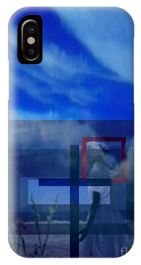 Inspirational IPhone Case featuring the digital art On Bended Knees by Brenda L Spencer
