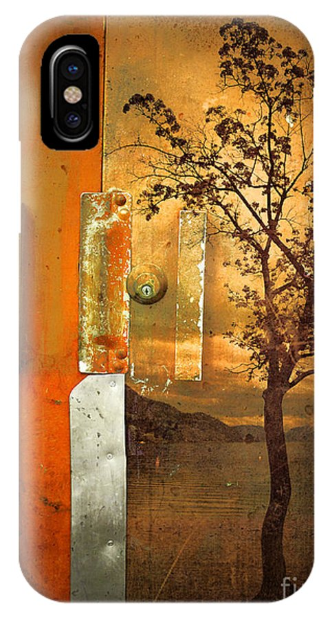 Door IPhone X Case featuring the photograph On The Other Side Of The Door by Tara Turner