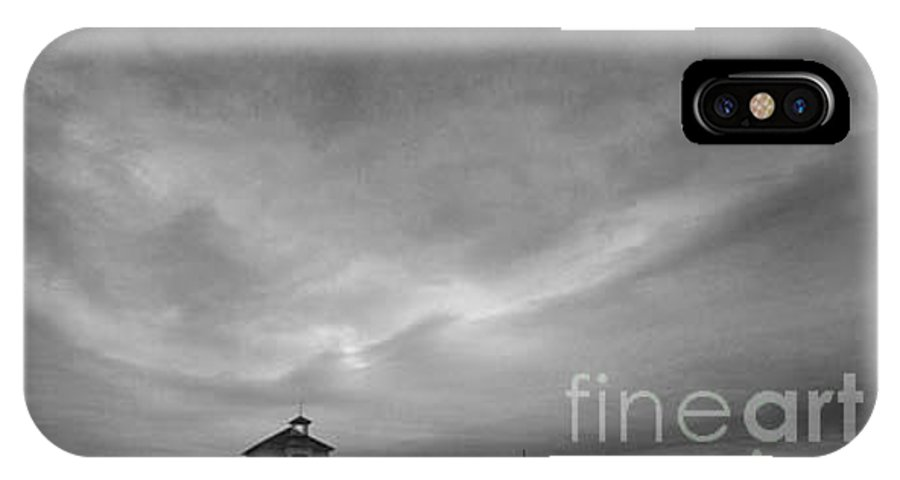 Landscape IPhone X Case featuring the photograph One Room Schoolhouse by Michael Ziegler