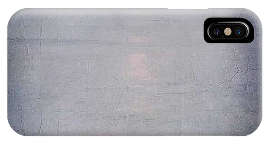 Filtered IPhone X / XS Case featuring the photograph Only The Lonely by Beth Williams