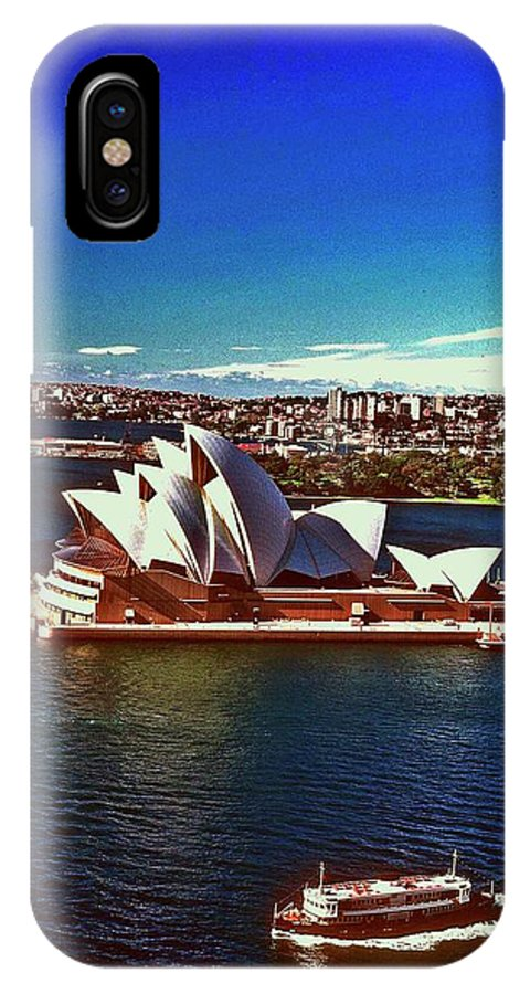 Opera House IPhone X Case featuring the photograph Opera House Sydney Austalia by Gary Wonning