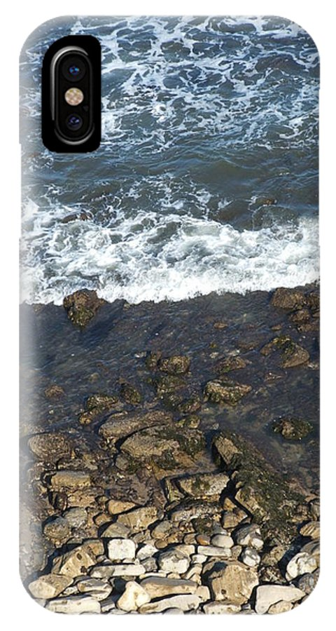 Ocean IPhone X Case featuring the photograph Opponents by Shari Chavira