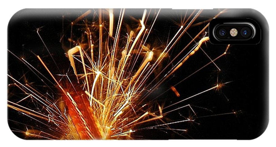 Sparks IPhone X / XS Case featuring the photograph Optimistic Love by Bill Kellett