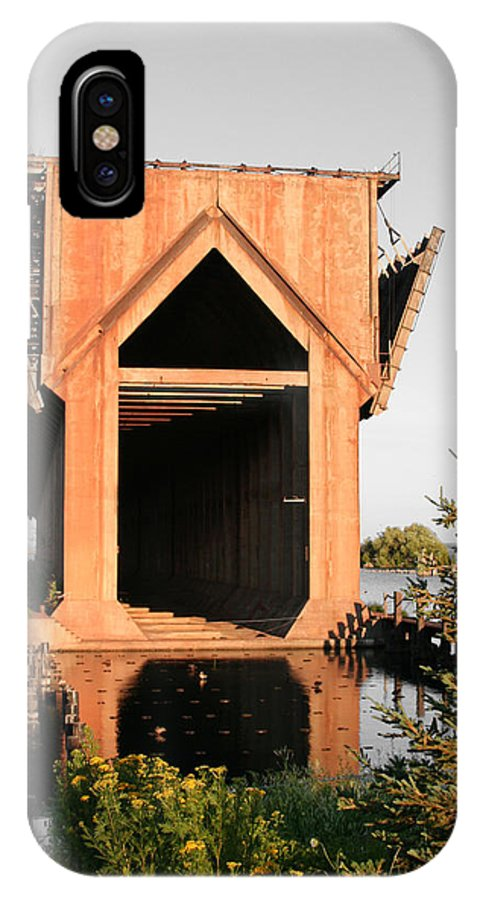 Ore Dock IPhone Case featuring the photograph Ore Dock by Dylan Punke