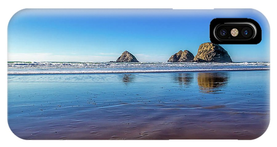 Jon Burch IPhone X Case featuring the photograph Oregons Rocky Coast by Jon Burch Photography