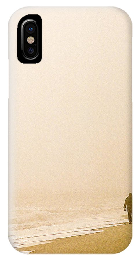 Landscape IPhone Case featuring the photograph Out Of The Mist by Steve Karol