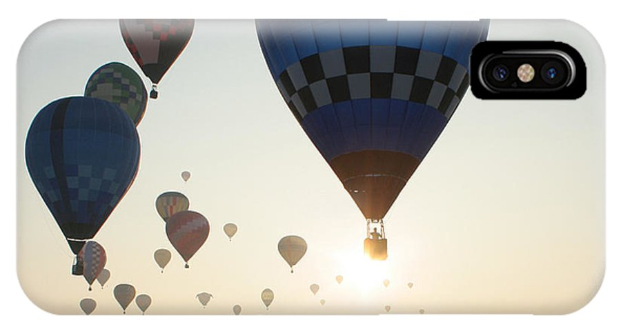 Balloons IPhone Case featuring the photograph Out Of The Sun No2 by Paul Anderson