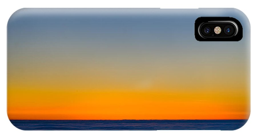 Landscape IPhone X Case featuring the photograph Over The Clouds by Silke Magino