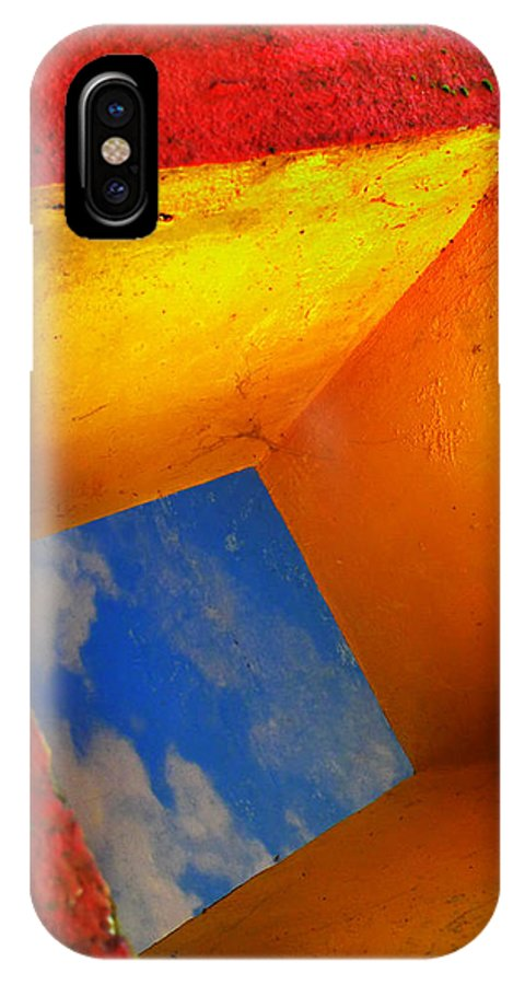 Skip Hunt IPhone X / XS Case featuring the photograph Over The Rainbow by Skip Hunt