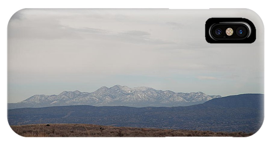 Mountains IPhone Case featuring the photograph Overcast On The Sandias by Rob Hans