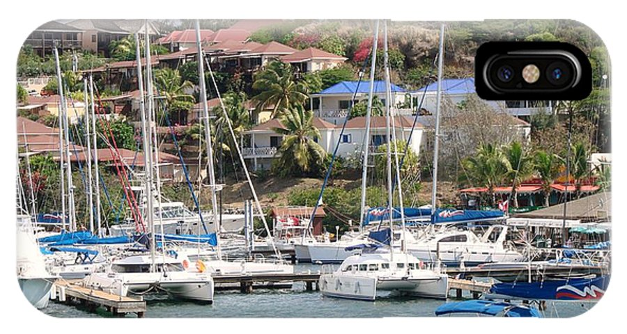 Oyster Bay Marina IPhone X Case featuring the photograph Oyster Bay Marina by Margaret Bobb