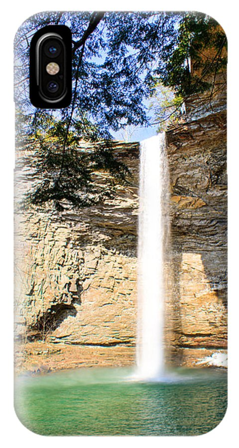 Ozone IPhone Case featuring the photograph Ozone Falls Focus by Douglas Barnett