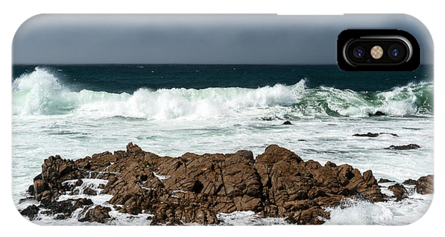 Surf IPhone X Case featuring the photograph Pacific Coast by Wim Slootweg
