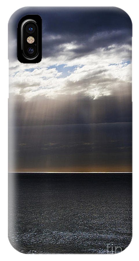IPhone X Case featuring the photograph Pacific Storm by Sheila Smart Fine Art Photography