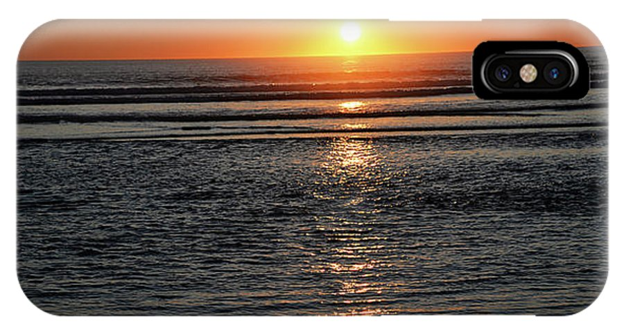 Denise Bruchman IPhone X Case featuring the photograph Pacific Sunset by Denise Bruchman
