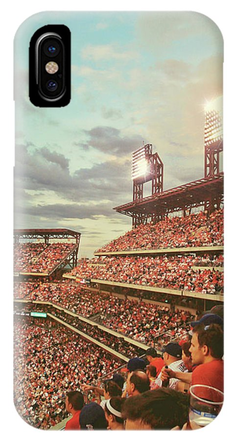 Stadium IPhone X Case featuring the photograph Packed Phull Of Phans by JAMART Photography