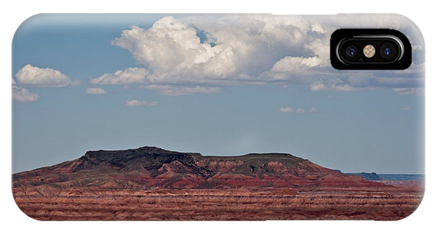 Painted IPhone X Case featuring the photograph Painted Desert #8 by Robert J Caputo