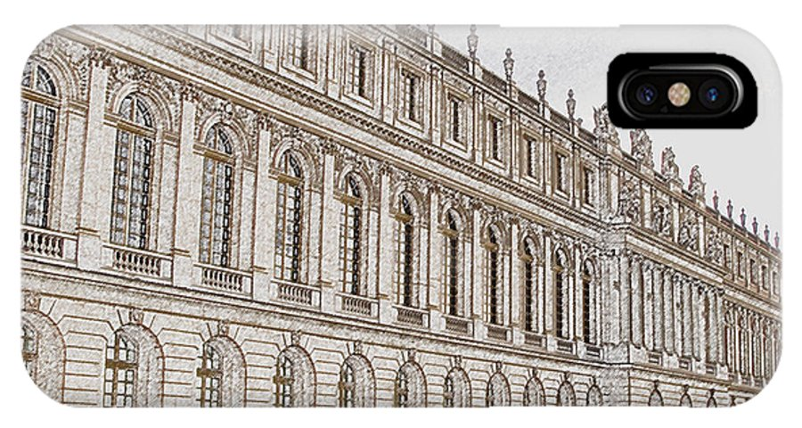 France IPhone Case featuring the photograph Palace Of Versailles by Amanda Barcon
