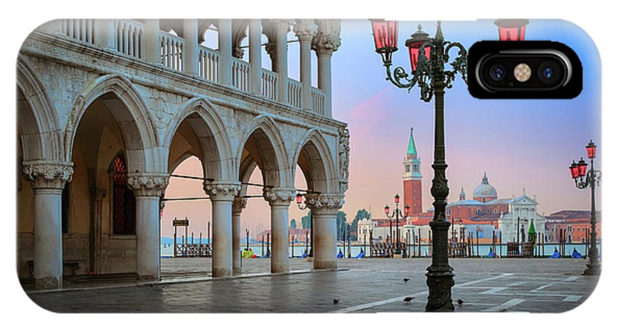 Doge's Palace IPhone X Case featuring the photograph Palazzo Ducale by Inge Johnsson