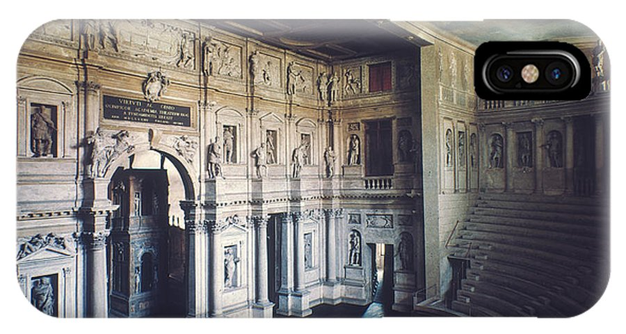 1579 IPhone X Case featuring the photograph Palladio: Teatro Olimpico by Granger