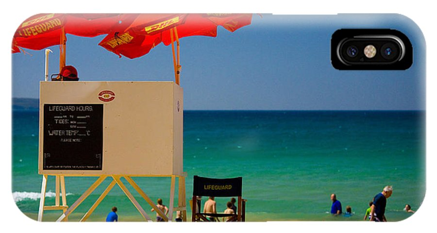 Palm Beach Sun Sea Sky Beach Umbrellas IPhone X Case featuring the photograph Palm Beach dreaming by Sheila Smart Fine Art Photography