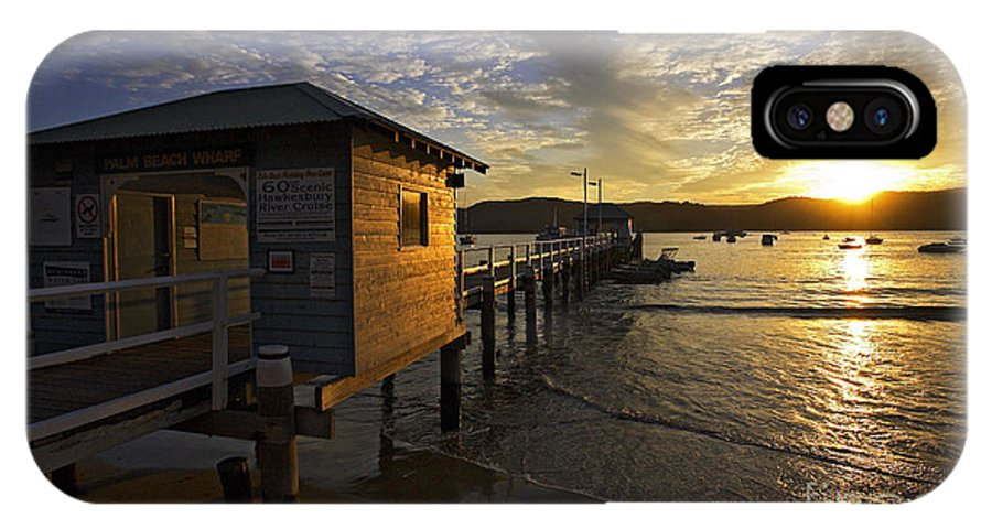 Palm Beach Sydney Australia Sunset Water Pittwater IPhone X Case featuring the photograph Palm Beach Sunset by Sheila Smart Fine Art Photography