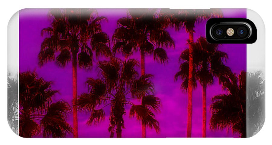 Palm IPhone X Case featuring the photograph Palm Tree Heaven by Kenneth Krolikowski