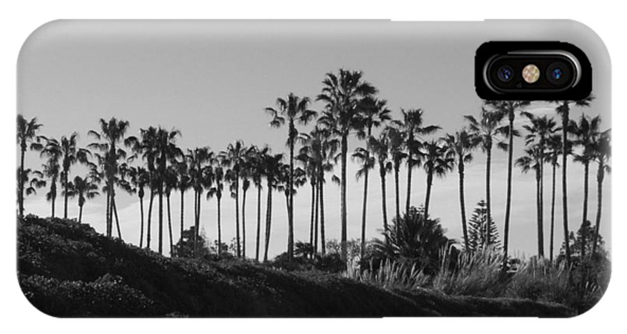 Landscapes IPhone X Case featuring the photograph Palms by Shari Chavira