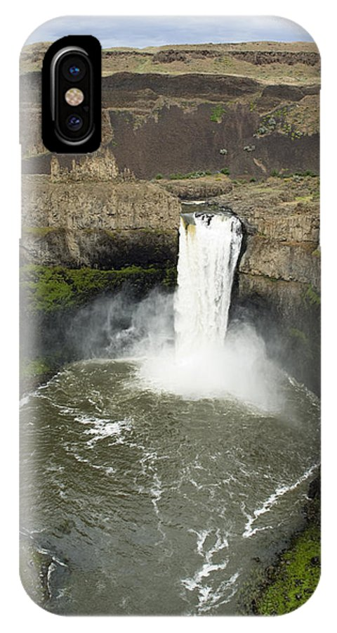 Falls IPhone Case featuring the photograph Palouse Falls State Park by Louise Magno