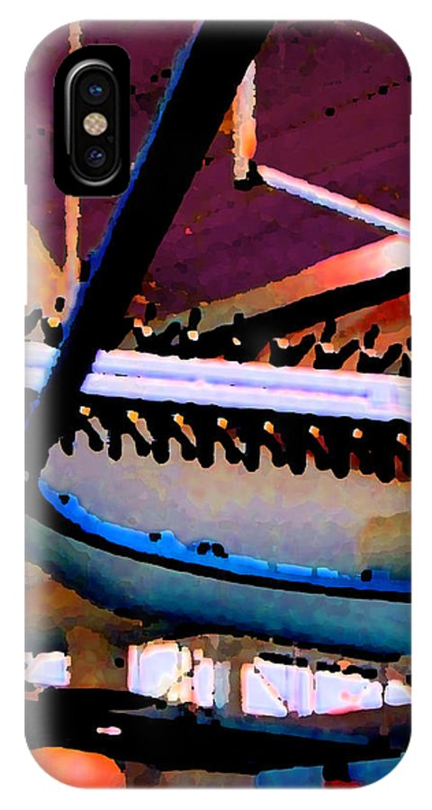 Abstract IPhone Case featuring the photograph Panel Three From Star Factory by Steve Karol
