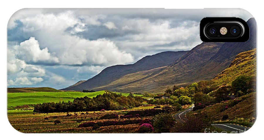 Ireland Photography IPhone X Case featuring the photograph Paradise in Ireland by Patricia Griffin Brett