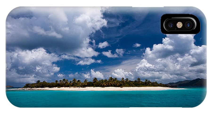 3scape IPhone Case featuring the photograph Paradise Is Sandy Cay by Adam Romanowicz