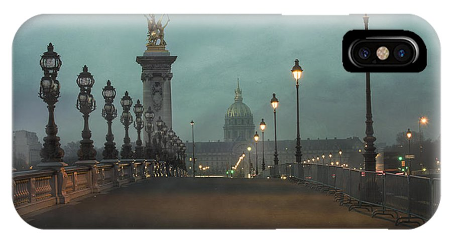 Architecture IPhone X Case featuring the photograph Paris by Juli Scalzi