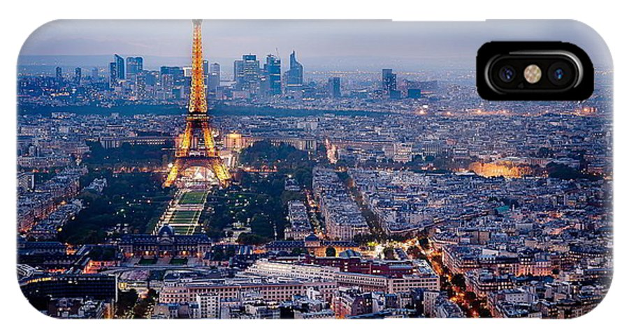 IPhone X Case featuring the photograph Paris by Mariam Ziani