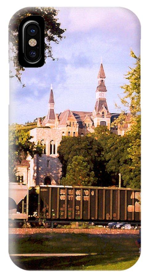 Landscape IPhone X Case featuring the photograph Park University by Steve Karol