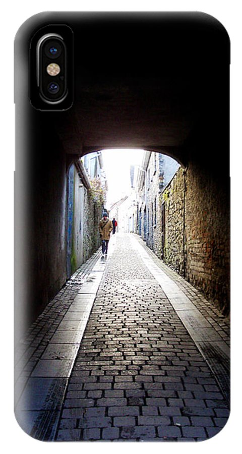 Cooblestone IPhone X Case featuring the photograph Passage by Tim Nyberg