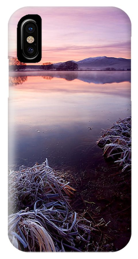Lake IPhone Case featuring the photograph Pastel Dawn by Mike Dawson