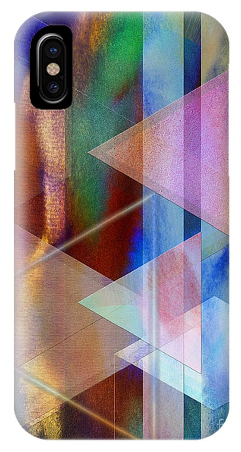 Pastoral Midnight IPhone Case featuring the digital art Pastoral Midnight by John Beck