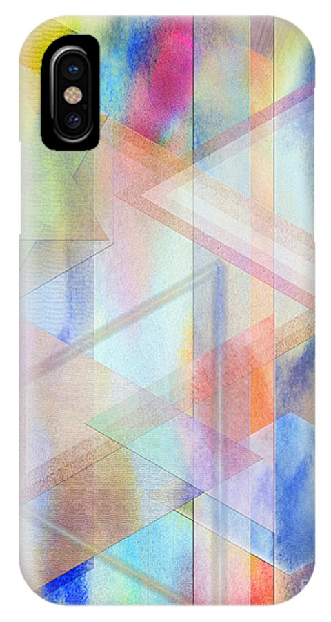 Pastoral Moment IPhone X Case featuring the digital art Pastoral Moment by John Beck